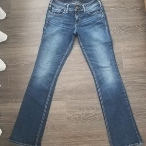 Silver Jeans Elyse Slim Boot dark wash- sz 28x33